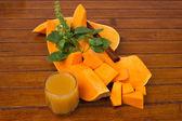 Edible pumpkin - squash — Stock Photo