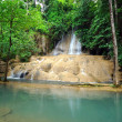 Sai yok noi Waterfall ,Thailand - Stock Photo