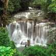 Huay Mae Khamin Waterfall ,Thailand - Stock Photo