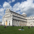 View of Piazza dei Miracoli Pisa — Stock Photo