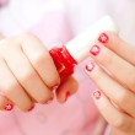 Nails art — Stock Photo