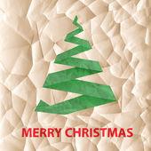 Felicitación de navidad eco — Foto de Stock
