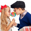 Love is sharing — Stock Photo