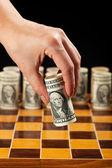 Money strategy concept — Stock Photo