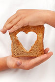 Food with love — Stock Photo