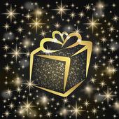 Christmas greeting card illustration — Stock Photo