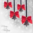 Seasonal holidays greeting card - Stock Photo