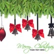 Christmas decorations design elements — Stock Photo