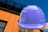 Blue helmet — Stockfoto