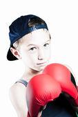 Fighting boy — Stock Photo
