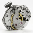 Old watch mechanism — Stock Photo