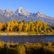 Royalty-Free Stock Photo: Scenic landscape in Grand Tetons