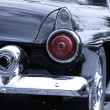Rear view of classic car — Stock Photo #7605051