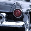 Stock Photo: Rear view of classic car