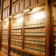 Law book library — Stock Photo