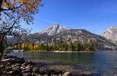 Jenny lake — Stock Photo