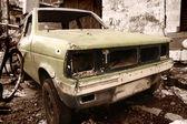 Rustic car — Stock Photo