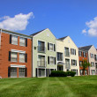 Colorful apartment building — Stock Photo #7618833