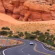 Scenic desert drive — Stock Photo #7619226
