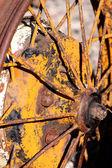 Rustic wheel — Stock Photo