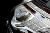 Car radio controls — Stock Photo