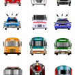 Stock Photo: Transportation icons