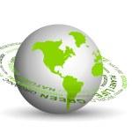 Go green concept — Stock Photo