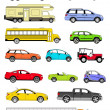 Transportation icons — Stockfoto #7823682