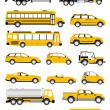 Transportation icons — Stockfoto #7823688
