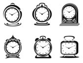 Clock symbols — Stock Photo