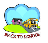 Back to school icon. — Stock Photo