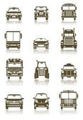 Transportation icons — Stock Photo