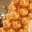 Golden balls — Stock Photo #7872784