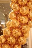Golden balls — Stockfoto