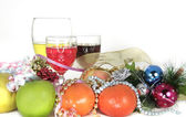 Christmas partydecoration — Stock Photo