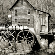 Grist glade creek mill — Stock Photo
