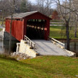 Covered bridge in Indiana — Stock Photo #7889153