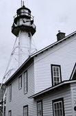 White Fish Point Light House — Stock Photo