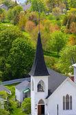 Igreja numa ilha mackinac — Fotografia Stock