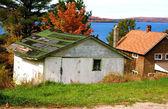 Abandoned Houses — Stock Photo
