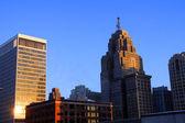 Detroit downtown — Stock Photo