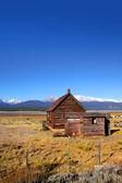 Abandoned ranch — Stock Photo
