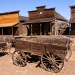 Old trail town - Stock Photo