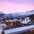 Stock Photo: Aristocratic, ski resort, of Courchevel in France