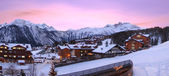 Aristocratic, ski resort, of Courchevel in France — Stock Photo
