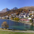 St. Moritz in Switzerland, — Stock Photo