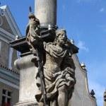 Saint Wenceslas statue — Stock Photo