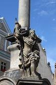 Saint wacława rzeźba — Zdjęcie stockowe
