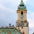 City Hall bell tower in Bratislava - Foto Stock
