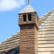 Rooftop chimney — Stock Photo